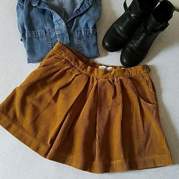 f886d6f46a Madewell Dresses & Skirts - Madewell corduroy mini skirt mustard ...