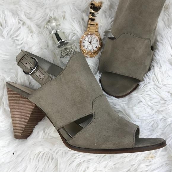 b03e75da31ca Nine West Shoes - Nine West troupe cone heel sandals shoes sz 61 2