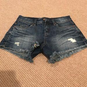 Blank NYC denim shorts, never worn!!