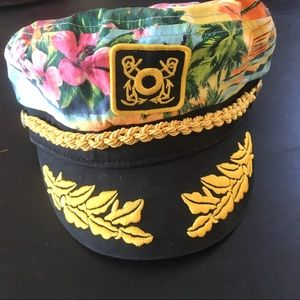 Accessories - Floral sailor cap