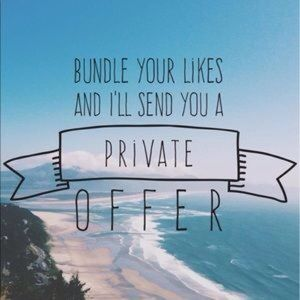 Other - ⛱ Bundle your likes for private discount