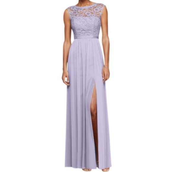 Davids Bridal Dresses Davids Bridal Bridesmaid Dress F19328 Iris