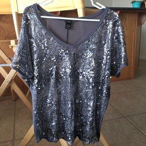 Gray Vanity shirt