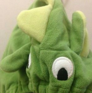 Plush Green Dragon 18M Costume