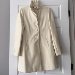 Bebe cream wool pea coat