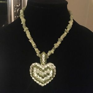 Jewelry - Statement heart necklace