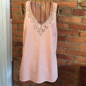 Peach beaded blouse