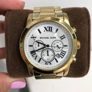 Michael Kors Cooper Chronograph Gold Watch
