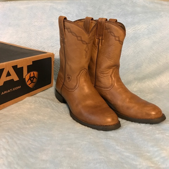 df8970da495 Ariat Shoes | Womens Heritage Roper Boots | Poshmark