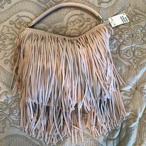 NWT H&M fringe purse