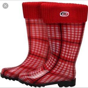 🏒 NHL Carolina Hurricanes Rain Boots