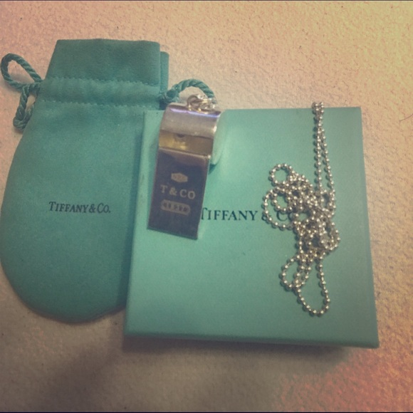 235cda48061f Authentic Tiffany and Co whistle and chain. M 59dbd9ce2599fe610a0085e9
