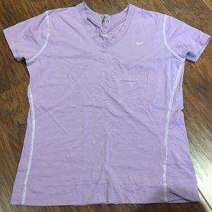Nike lavender shirt