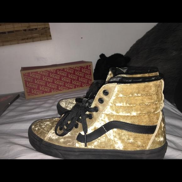 Vans Shoes   Sk8hi Crushed Velvet High