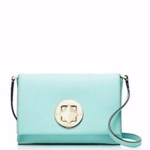 Tiffany Blue Kate Spade Newbury Diamond Turnlock