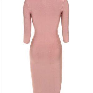 House of CB Dresses - HOUSE OF CB rose bandage dress! Curve hugging!