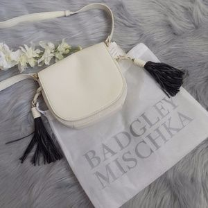 Badgley Mischka Saddle Bag