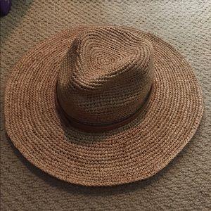 BILLABONG wife brim raffia hat