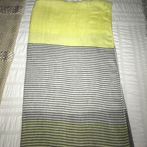 Ann Taylor Block Striped Scarf