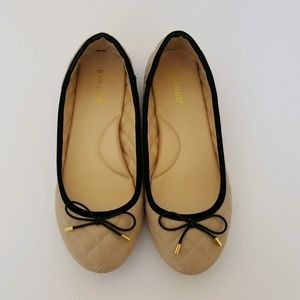 Bamboo Women's Quilted Ballet Flats