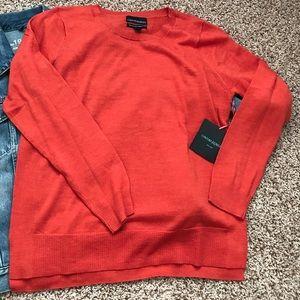 Cynthia Rowley crew neck sweater