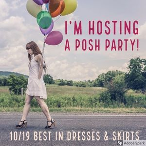 Dresses & Skirts - I'm a Posh Party Host! Comment to be considered!