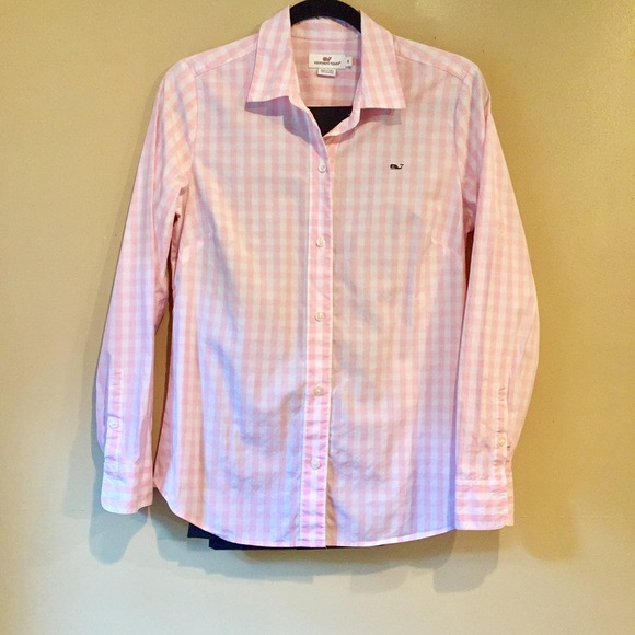 e20e73f9 Vineyard Vines Tops | Womens Checkered Button Down | Poshmark