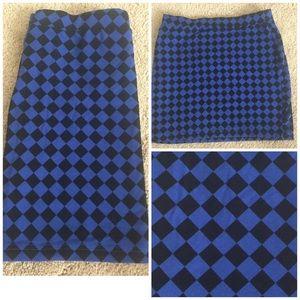 Dresses & Skirts - Dark Blue/Black Skirt