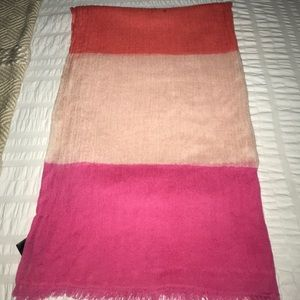 Ann Taylor Color Block Scarf