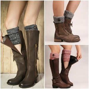 Accessories - 2 Tone Boot Cuffs
