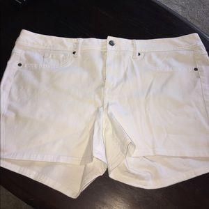 NWOT White Shorts
