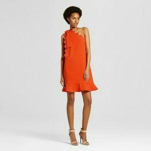 VICTORIA BECKHAM FOR TARGET orange dress