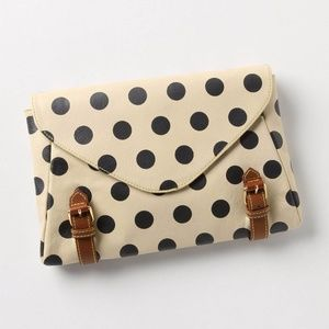Anthropologie Holding Horses Clutch
