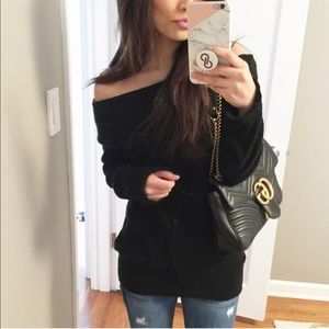 Larissa Cold Shoulder Sweater