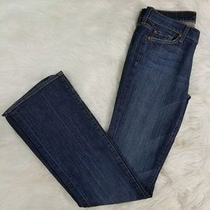 7 For All Mankind 7FAM Bootcut Denim Jeans