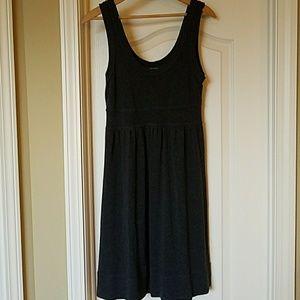 Velvet Spencer Graham Gray Empire Wiast Dress