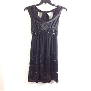 New Free People Women's Black Dress Size S Belted