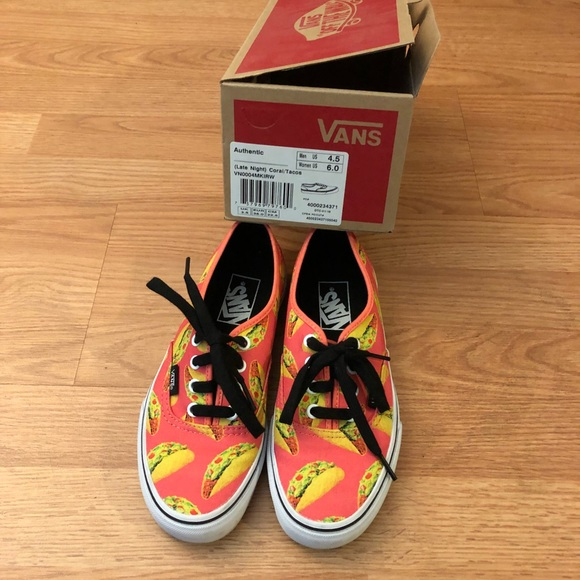 2215cccce9 Rare vans taco shoes