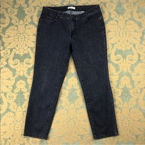 """Coldwater Creek Natural Fit Blue Jeans 🦋 27"""" Ins"""