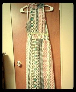 Ark & Co tribal print Maxi Dress
