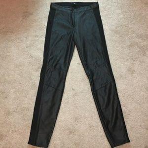 Pants - H&M Faux leather pants
