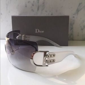 Dior Airspeed1 Gradient Shield Sunglasses Silver