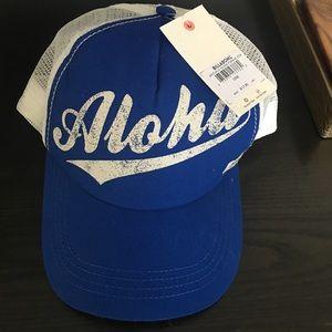 Billabong NWT Aloha trucker hat