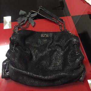 J crew shiny chain purse