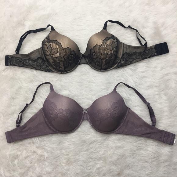2fe48e5958 Gilligan   O Malley Other - 38DD lavender   black lace bra set