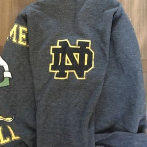 b99856e9733c56 Forever 21 Tops - Notre Dame crop top sweater