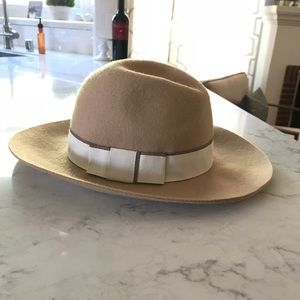 Caramel Colored Wool Hat