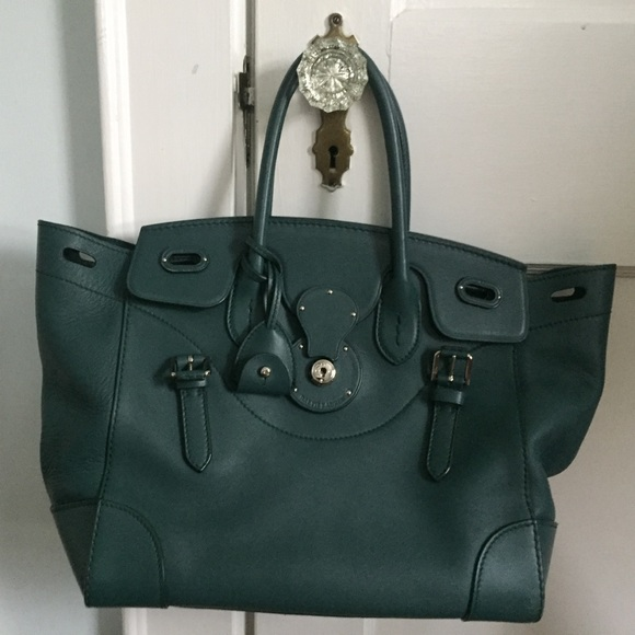 e52681444f50 Ralph Lauren Soft Ricky Bag - Made In Italy. M 59dbf58f5a49d0f6c3010d9a