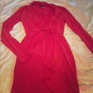 🍁🍂Victoria's Secret Wrap Dress - Orange Red