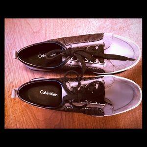 Calvin Klein Women's Trendy Sneakers